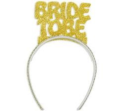 Parti Dünyası - Bride To Be Simli Gold Taç