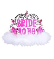 Parti Dünyası - Bride to be Taç Pembe Otrişli