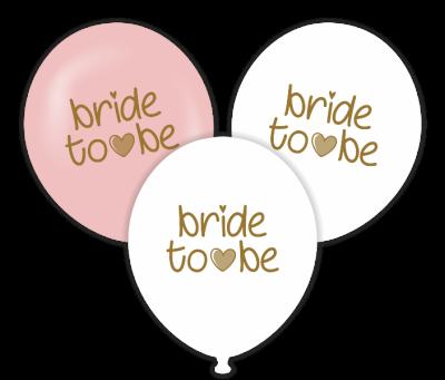 Bride to be Temalı Baskılı Balon 6 Adet