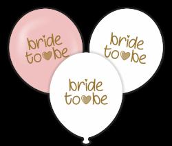 Parti - Bride to be Temalı Baskılı Balon 6 Adet