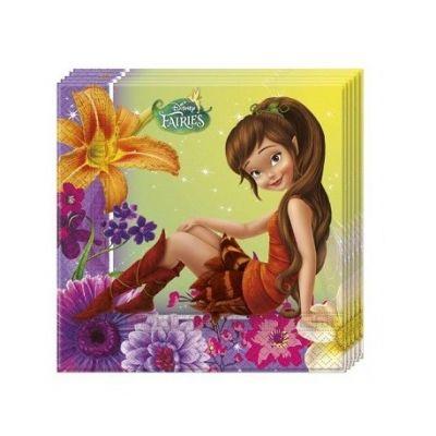 Parti Dünyası - Tinkerbell Fairies Magic Peçete 20 Adet