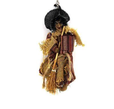 Cadı Figürü Asma Süs-Dekor