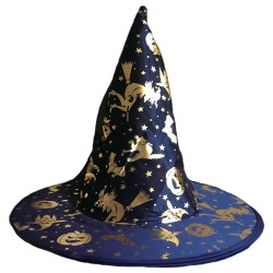 Parti Dünyası - Cadı Şapkası Altın veya Gümüş Çift Taraflı