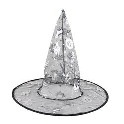 Parti Dünyası - Cadı Şapkası Gümüş Renkli