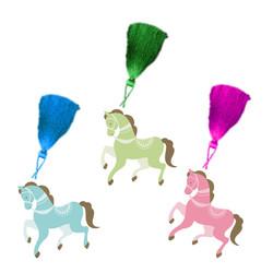 Parti Dünyası - Carousel Atlı Karınca Kitap Ayracı 8 Adet