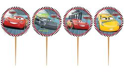 Parti Dünyası - Cars Arabalar Kürdan Seti 10 Adet