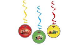 Parti Dünyası - Cars Arabalar Süs Dalgası 3 Adet
