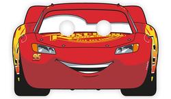 Parti Dünyası - Cars Arabalar Tam Yüz Maske 6 Adet