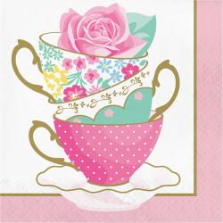 Parti Dünyası - Çay Partisi Peçete 16 Adet