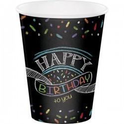Parti Dünyası - Happy Birthday to You Bardak 8 Adet