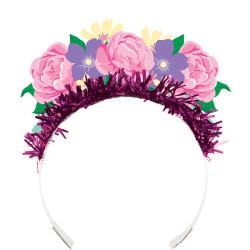 Parti Dünyası - Çiçekler Premium Taç 4 Adet
