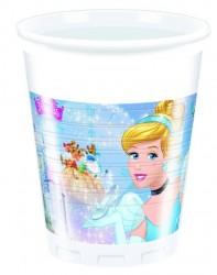 Parti Dünyası - Cinderella Plastik Bardak 8 Adet