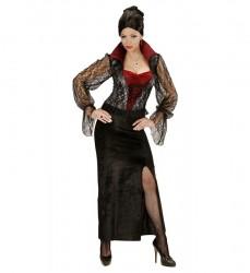 Parti Dünyası - Dantelli Vampirella Yetişkin Kostüm M Beden