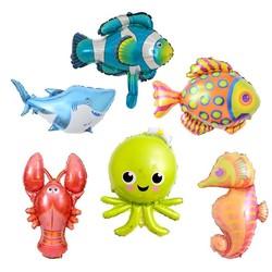 Parti Dünyası - Deniz Canlıları 6 Lı Mini Shape