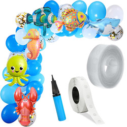 Parti - DENİZ CANLILARI Zincir Balon Yapım Seti