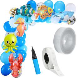 Parti Dünyası - Deniz Canlıları Zincir Balon Yapım Seti