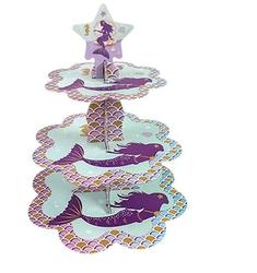 Parti Dünyası - Deniz Kızı Partisi Cupcake Standı