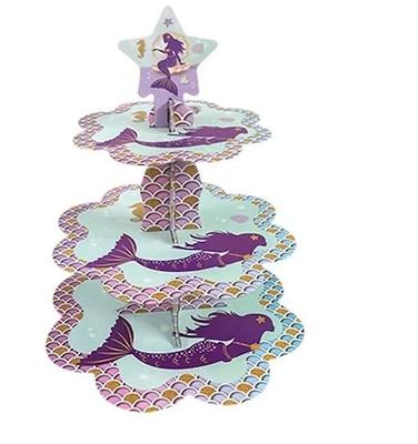 Deniz Kızı Partisi Cupcake Standı