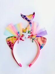 Parti Dünyası - Deniz Kızı Taç Pembe Renk