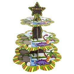 Parti Dünyası - Dinozor Cupcake Standı - Kek Standı