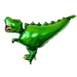 Parti Dünyası - Yeşil Dinozor Folyo Balon 75x99 cm
