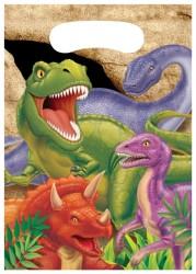 Parti Dünyası - Dinozor Land Hediye Poşeti 8 Adet