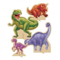 Parti Dünyası - Dinozor Land Masa Orta Süsü 4 Adet
