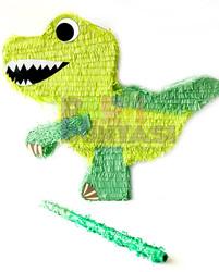 Parti Dünyası - Dinozor Şekilli Pinyata ve Sopası