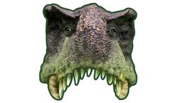 Parti Dünyası - Dinozor Tam Yüz Maske 6 Adet