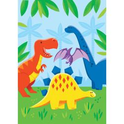 Parti Dünyası - Dinozor ve Arkadaşları Hediye Poşeti 8 Adet