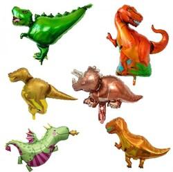 Parti Dünyası - Dinozorlar Folyo Balon Seti 6 lı