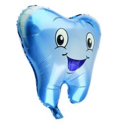 Parti Dünyası - Dişim Çıktı 55 cm Folyo Balon Mavi