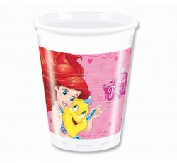 Parti Dünyası - Disney Prenses Dreaming 8 li Plastik Bardak