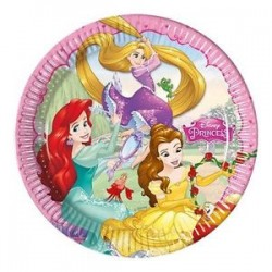 Parti Dünyası - Disney Prenses Dreaming 8 li Tabak