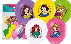 Parti Dünyası - Disney Prensesleri 12 Li Latex Balon