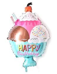 Parti - Dondurma Kabı Şekilli Folyo Balon