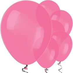 Parti Dünyası - Fuşya, Koyu Pembe Balon 10 Adet