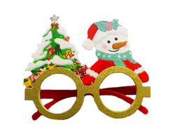 Parti Dünyası - Eğlenceli Yeni Yıl Gözlüğü Kardan Adamlı