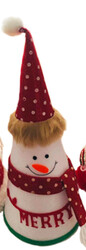 Parti Dünyası - Eğlenceli Yeni Yıl Mekan Dekoru Kırmızı Polarlı