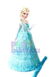 Parti Dünyası - Elsa Kar Prensesi Şekilli Pinyata ve Sopası