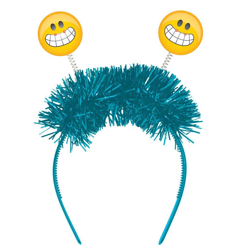 Emoji Partisi IŞIKLI Eğlenceli Taç 1 Adet