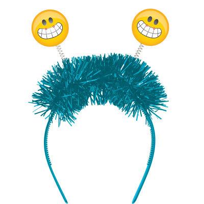 - Emoji Partisi IŞIKLI Eğlenceli Taç 1 Adet