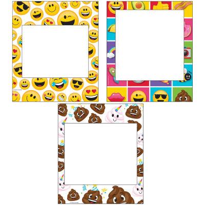- Emojiler Fotoğraf Çekme Çerçevesi 3 Adet
