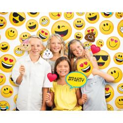 Parti Dünyası - Gülen Yüz Fotoğraf Çekme Panosu (Arka Fon)