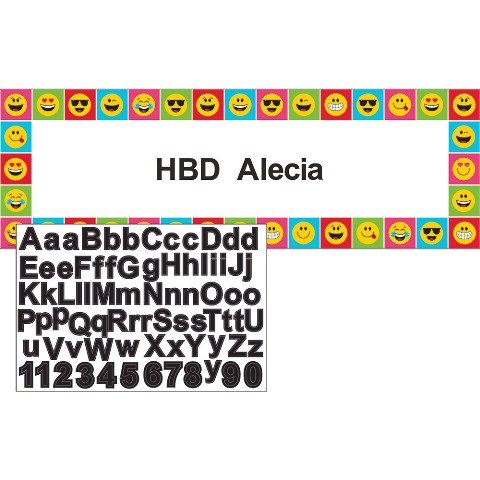 Emojini Göster Dev Afiş Stickerlı