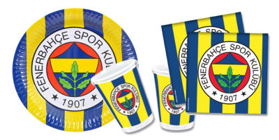 Fenerbahçe 24 Kişilik Sarı Kanarya Parti Seti