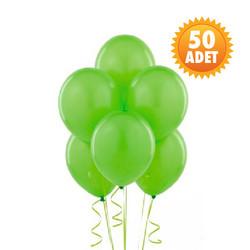 Parti Dünyası - Fıstık Yeşili 50 Li Latex Balon