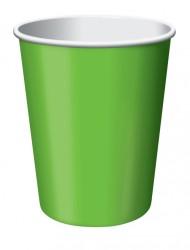 Parti Dünyası - Fıstık Yeşili 8 Li Bardak