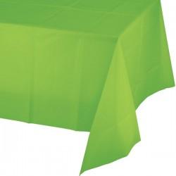 - Fıstık Yeşili Masa Örtüsü 274 cm X 137 cm ebadında