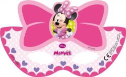 Parti Dünyası - Fiyonklu Minnie 6 lı Maske